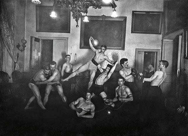 Фотография атлетического общества Рипопьера